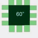 HL 5' square