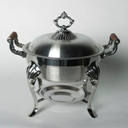 HL chafing dish silver 8qt round