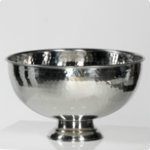 HL punch bowl silver